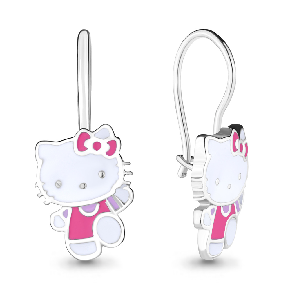 Сережки Hello, Kitty