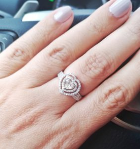 Кольцо с бриллиантами на заказ