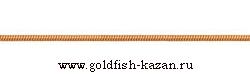 Золотая цепь плетение Снэйк