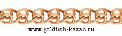 Золотая цепь плетение Лав