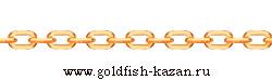 Золотая цепочка плетение Якорная