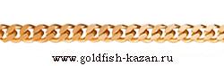 Золотая цепь плетение Панцирная